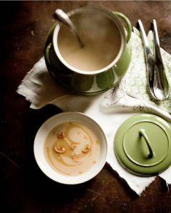 Creamy veggie bisque